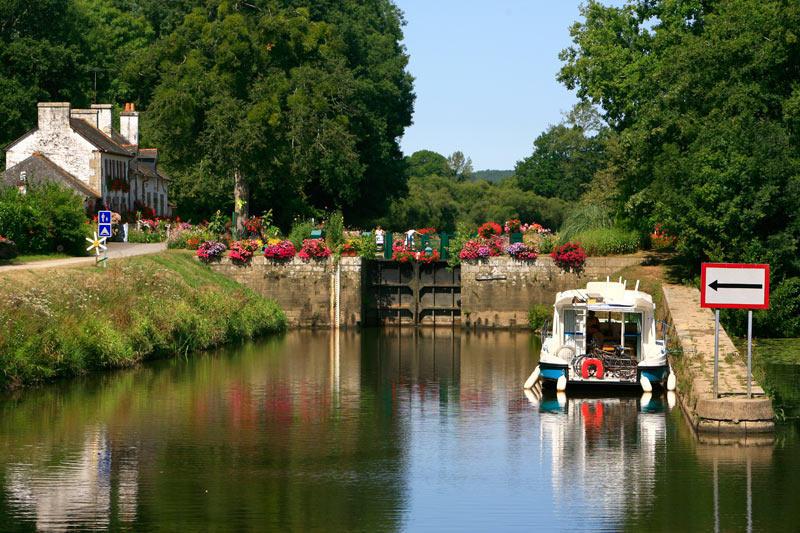 La canal de Nantes à Brest